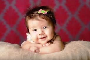 Beautiful Cute Baby Girls Smile