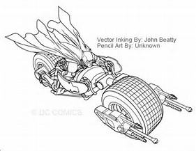 HD Wallpapers Batman Motorcycle Coloring Pages