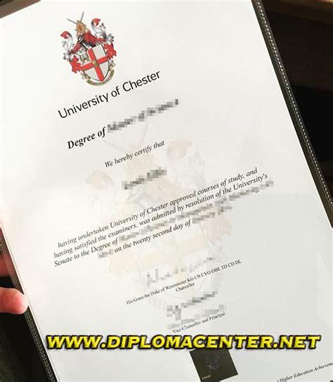 university  chester degree certificate buy university