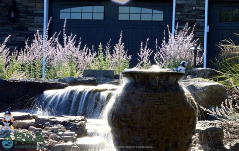 Ada Pondless Water Feature & Landscape Lighting R&a
