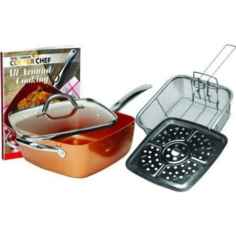copper chef square pan set set   kitchen home buy   south africa  lootcoza