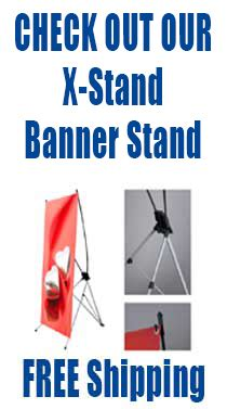 the l stand coupon l stands l banner stand display