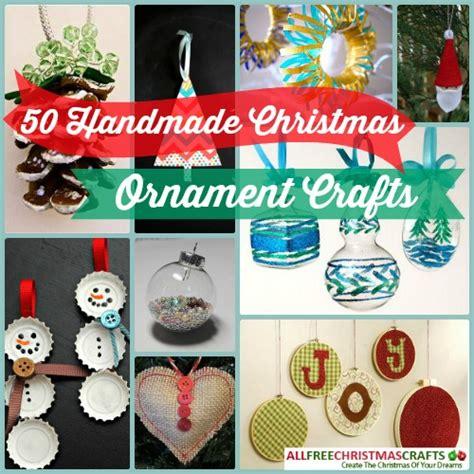 50 handmade christmas ornament crafts