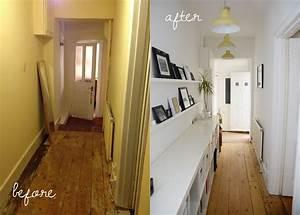 Narrow, Victorian, Hallway, Ideas