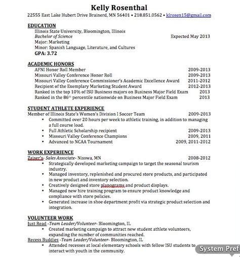 Updated Resume Sles 89 best images about search on