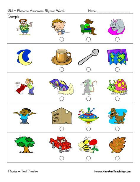 preschool test practice  fun teaching