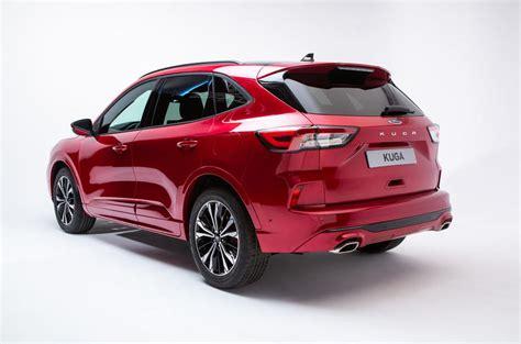 ford kuga revealed  fresh design  hybrid option