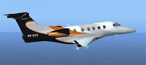 Embraer Phenom 300 PP-XVJ for FSX