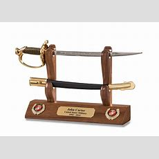 Marine Nco Sword Letter Opener And Display