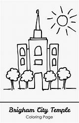 Coloring Temple Lds Template Brigham Printable Temples Clip Kid Clipart Church Primary Sheet Apple Templates Children Popular George sketch template