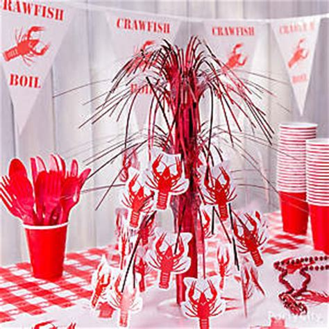 crawfish boil table decorations cajun crawfish boil ideas mardi gras ideas