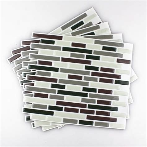 backsplash kitchen tiles frentes de cocina nuevos con estos azulejos adhesivos