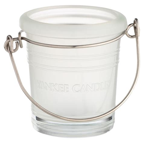 candele votive yankee candle glass porta candele votive in vetro