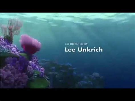finding nemo  credits discovery family version youtube