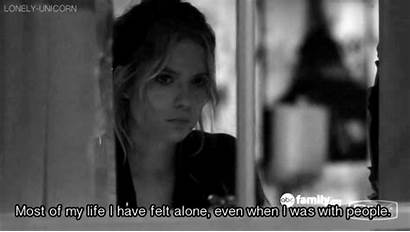 Pretty Lonely Liars Quotes Sad Alone Crying