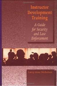 Instructor Development Training Manual  A Guide For By