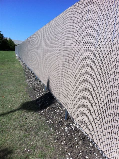 chain link fencing installed  titan fence supply