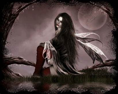 Goth Fairy Dark Evil Gothic Fairies Woman