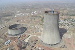 World's highest cooling towers take shape