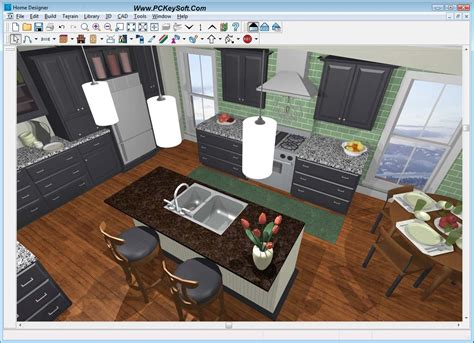 Free Interior Design Software : Kitchen Furniture Interior Design Software Pro 100