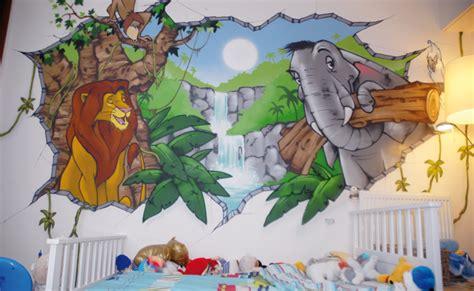 decoration chambre bebe theme jungle décoration chambre roi