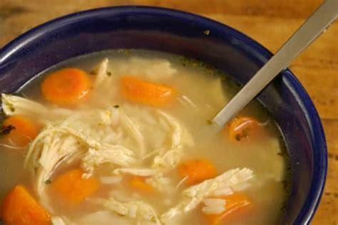 la soupe de grand mere au poulet  remede puissant