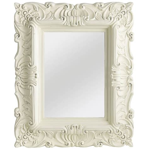 25 Best Collection Of White Baroque Wall Mirrors