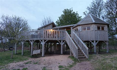 Luxury Treehouse Glamping Experience In Scotland