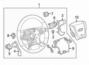 Chevrolet Silverado 1500 Steering Wheel Wiring Harness