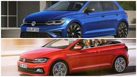 2018 Volkswagen Polo R And Gti Cabrio Rendered