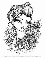 Coloring Gypsy Pages Printable Getcolorings Esmeralda Fresh sketch template