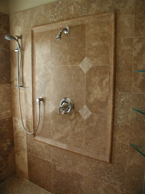 shower stalls  tile feature wall quality marble