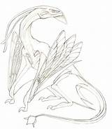 Avatar Ikran Banshee Movie Pandora Cameron James Coloring Sketch Lineart Concept Drawings Tattoo Witcher Dragon Deviantart Monsters Sci Competition Fi sketch template