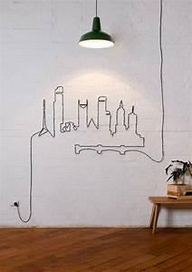 Deko Wand Ideen : 20 kreative deko ideen wie sie l stige kabel verstecken k nnen room pinterest ~ Markanthonyermac.com Haus und Dekorationen