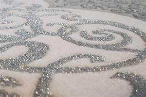 Teppich Mit Glitzer : lalee 347171729 klassischer teppich edel muster wellen 3d konturen glitzer gr sse ~ Frokenaadalensverden.com Haus und Dekorationen