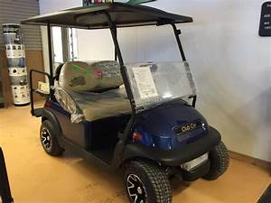 2017 Club Car Villager 4 Xf Sapphire Blue 48v W  Charger