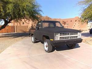Chevy Stepside 4x4 Pickup Truck 1975 4wd Square Body K