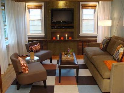 Living Furniture Layout Apartment Rooms Fireplace Tv