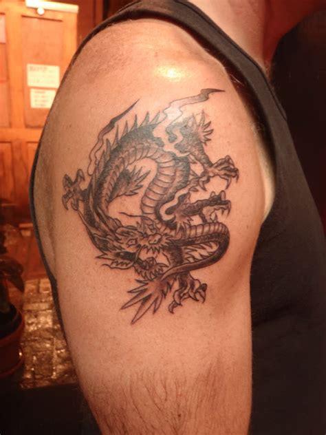 achilles warrior tattoo    shoulder