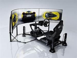 Simulateur Auto Ps4 : un simulateur de conduite d 39 une mclaren journal du actualit du luxe ~ Farleysfitness.com Idées de Décoration