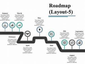Roadmap Ppt Visual Aids Diagrams