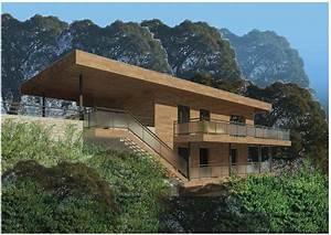 Un chantier maison bois a nice maison bois cote sud for Plan maison avec cote 1 un chantier maison bois 224 nice maison bois cate sud