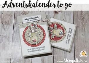Adventskalender To Go Basteln : 1000 images about stempeltier kreative werke mit stampin 39 up on pinterest ~ Orissabook.com Haus und Dekorationen