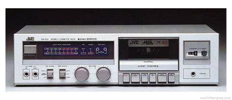 jvc kd v22 manual logic cassette deck hifi