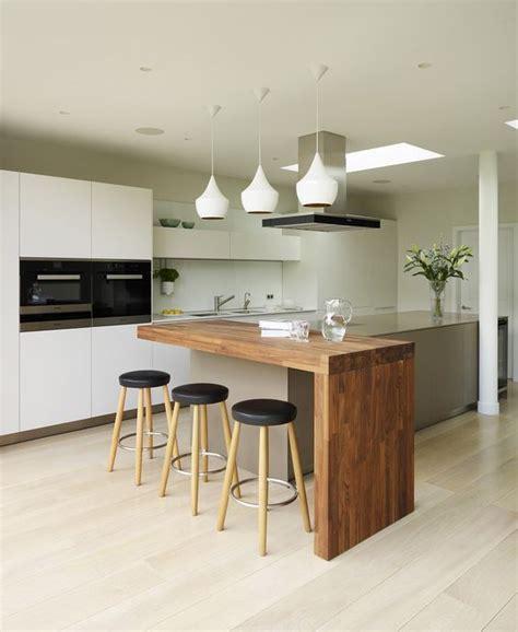 comptoir separation cuisine salon ideas para diseño de desayunadores islas o barras para la