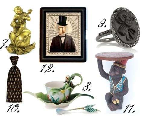 Just Monkey'in Around! 20 Great Monkey Themed Accessories