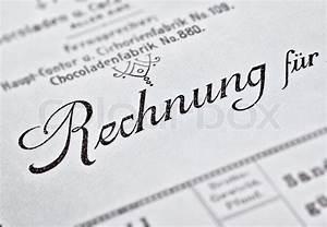 Fluktuation Berechnen : detail einer historischen rechnung einer schokoladenfabrik stockfoto colourbox ~ Themetempest.com Abrechnung