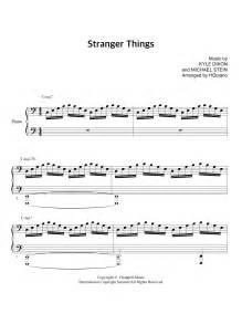 Stranger Things Opening Theme Sheet Music Direct