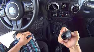 How To Quickly Remove Shift Knobs From Jeep Jk Wrangler
