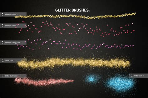 glitter effect photoshop toolkit  actions presets